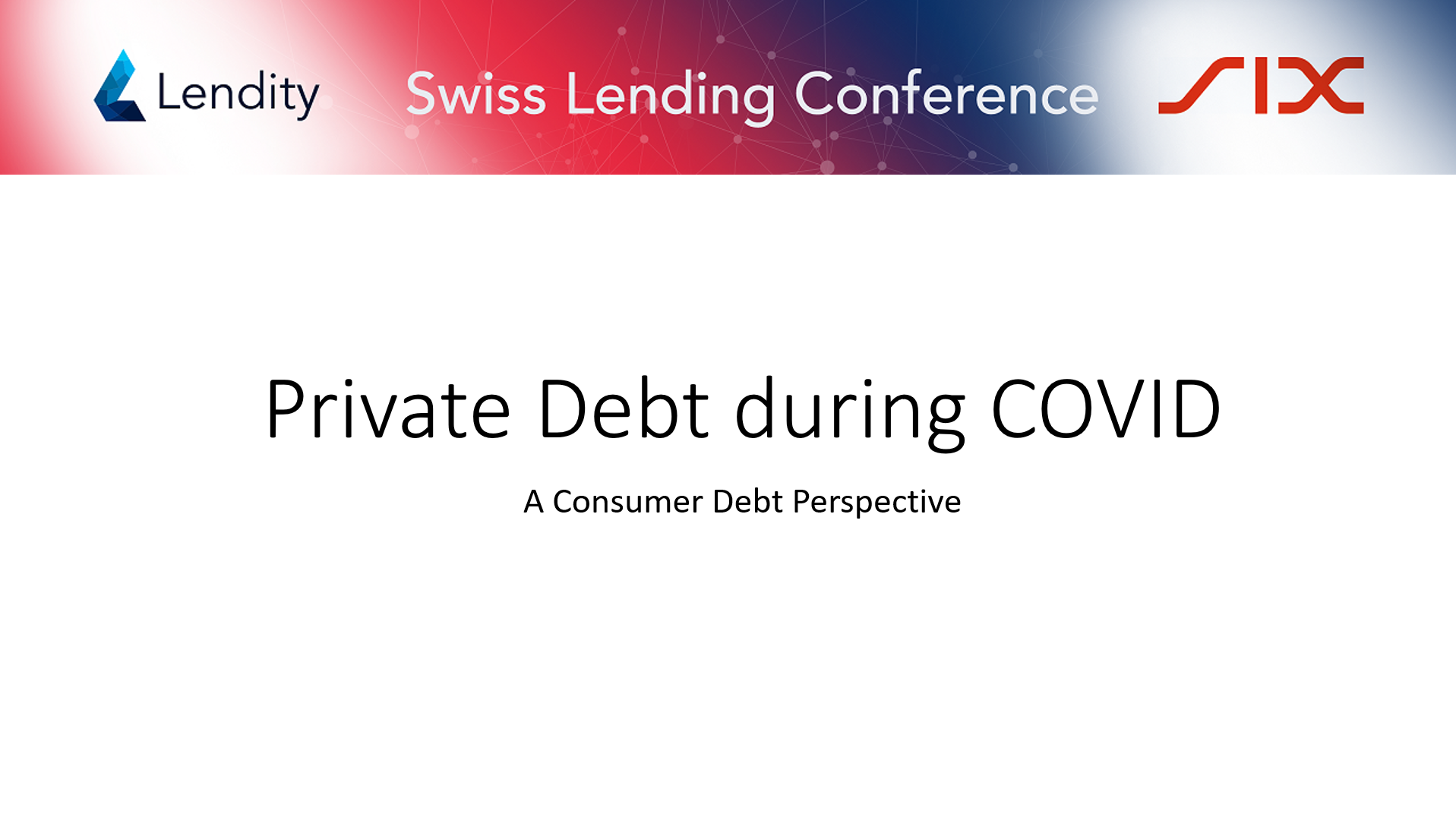 Private Debt during COVID